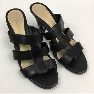 Naturalizer black sandals/slides. Sz 7.5M.